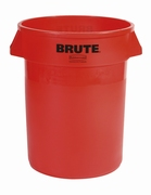 Ronde Brute container 121,1 ltr, rood.
