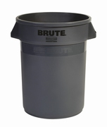 Ronde Brute container 121,1 ltr, grijs