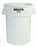 Ronde Brute container 166,5 ltr, wit