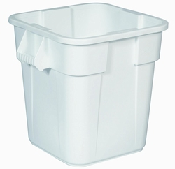 Vierkante Brute container 106 ltr, wit