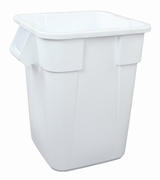 Vierkante Brute container 151,4 ltr, wit