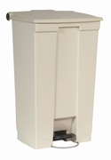Step-On container 87 ltr, beige