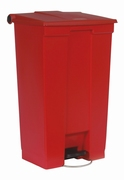 Step-On container 87 ltr, rood