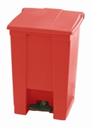 Step-On container 45 ltr, rood