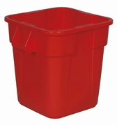 Vierkante Brute container 106 ltr, rood