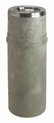 As-papierbak 57 ltr beige