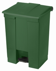 Step-On container 68 ltr, groen