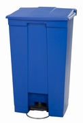 Step-On container 87 ltr, blauw