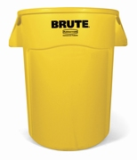 Ronde Brute Utility container 166,5 ltr, geel