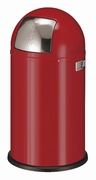 Pushboy, Wesco 50 ltr, rood
