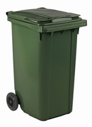Mini-container 240 ltr groen