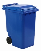Mini-container 360 ltr blauw