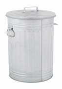 Trash can 54 ltr, verzinkt