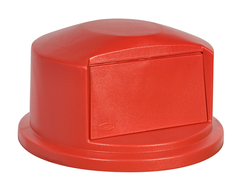 Dome deksel, rood