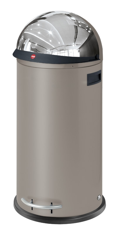 KickVisier 50 ltr parelgrijs