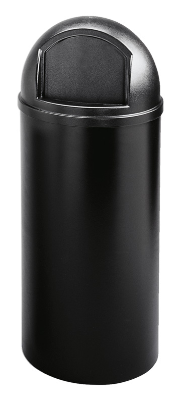 Marshal Container 56,8 ltr, zwart
