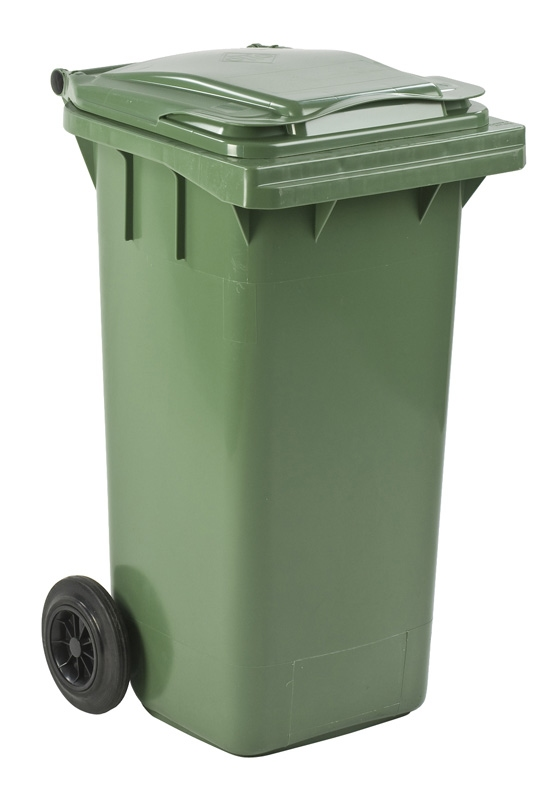 Mini-container 120 ltr groen
