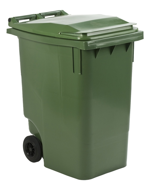 Mini-container 360 ltr groen
