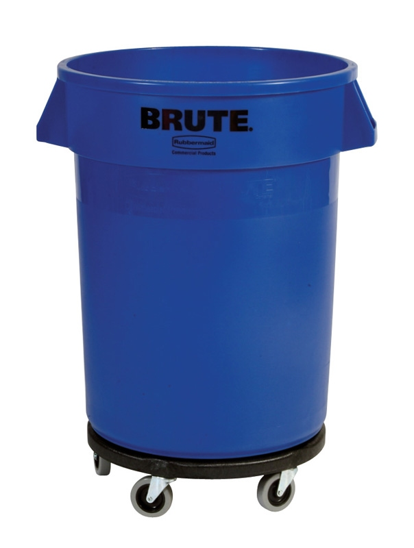 Ronde Brute container 121,1 ltr, blauw