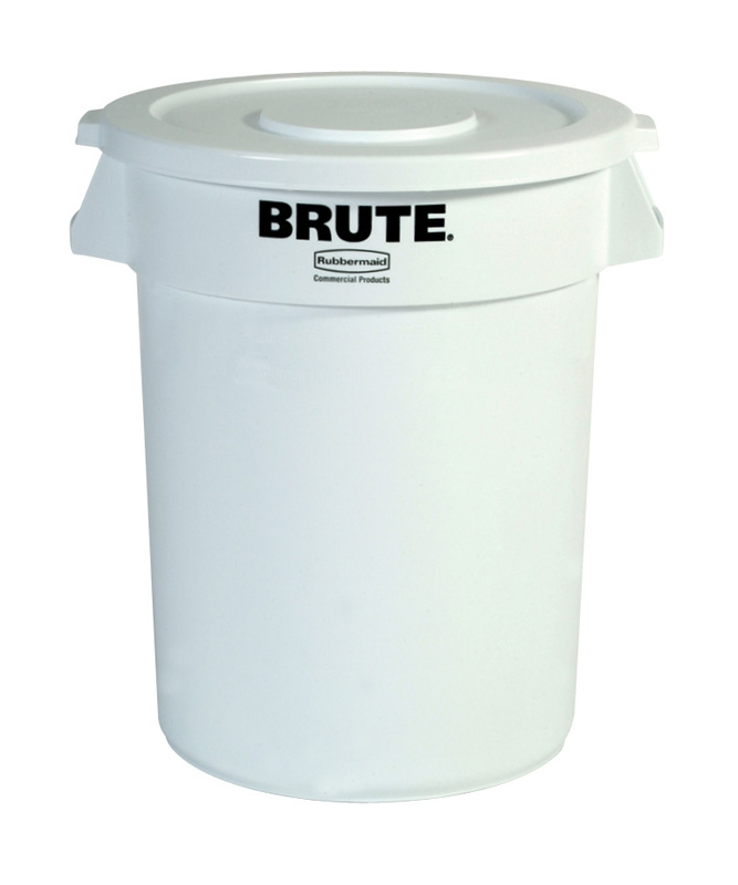 Ronde Brute container 121,1 ltr, wit