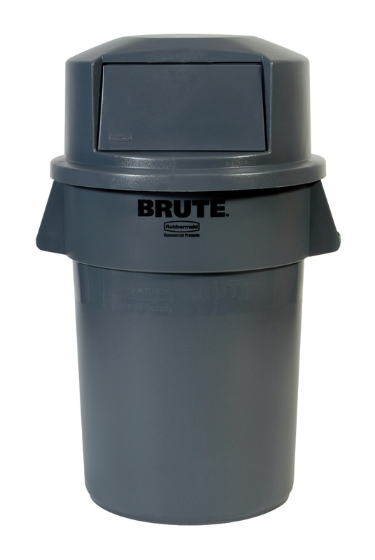 Ronde Brute container 166,5 ltr, grijs
