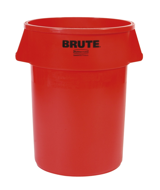 Ronde Brute container 166,5 ltr, rood