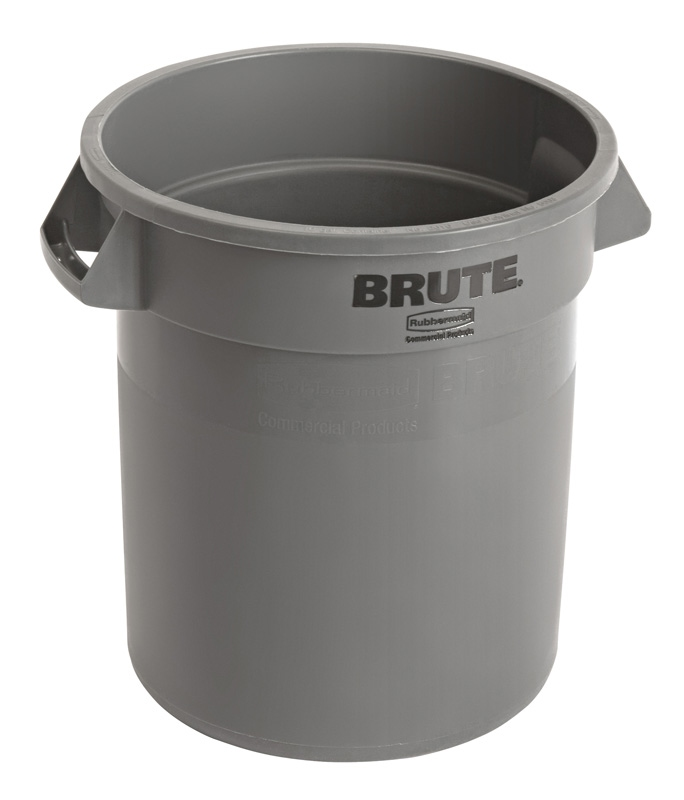 Ronde Brute container 37,9 ltr, grijs