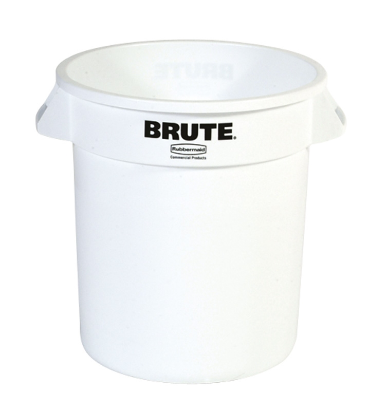 Ronde Brute container 37,9 ltr, wit