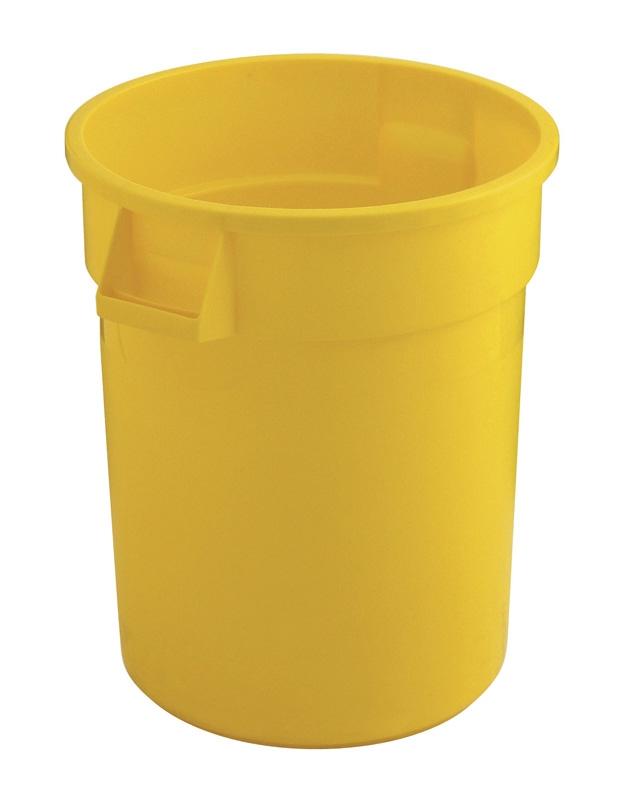 Ronde Brute container 75,7 ltr, geel