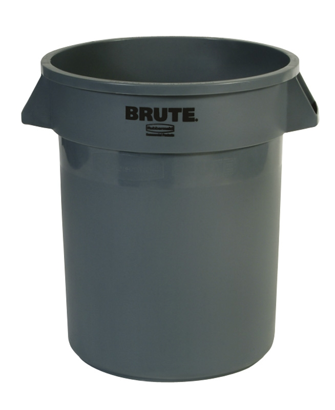 Ronde Brute container 75,7 ltr, grijs