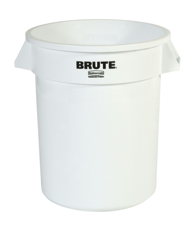 Ronde Brute container 75,7 ltr, wit