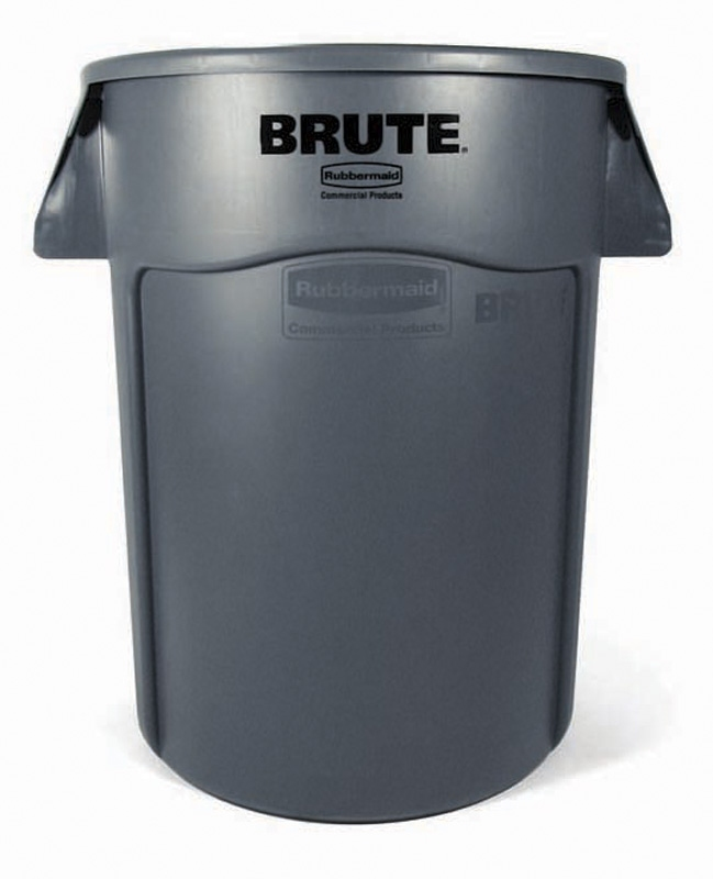 Ronde Brute Utility container 166,5 ltr, grijs