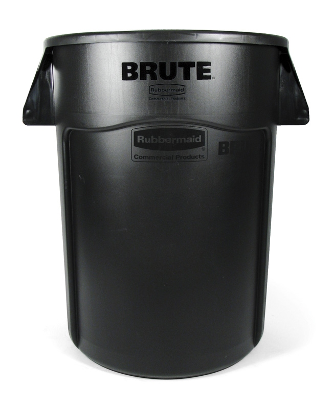 Ronde Brute Utility container 166,5 ltr, zwart