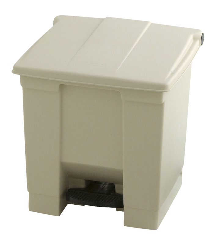 Step-On container 30 ltr, beige