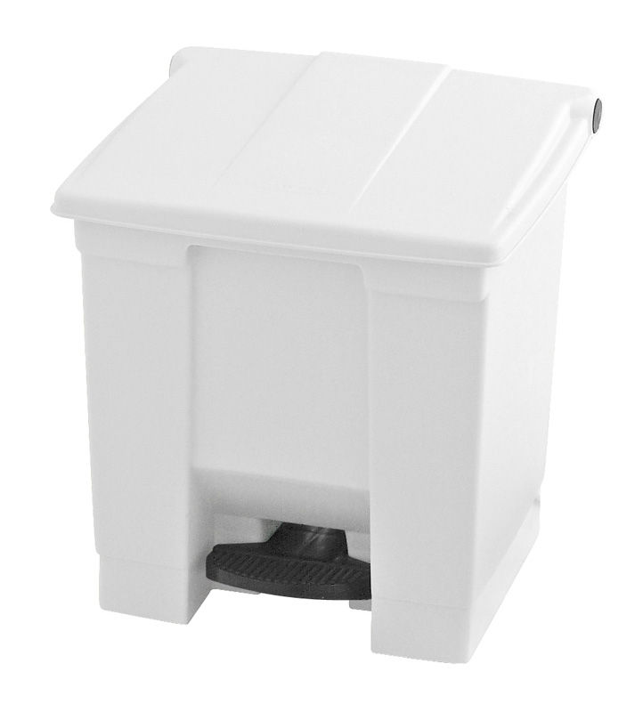 Step-On container 30 ltr, wit
