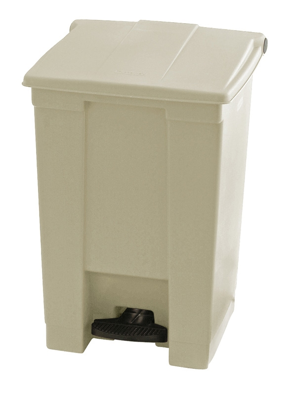 Step-On container 45 ltr, beige