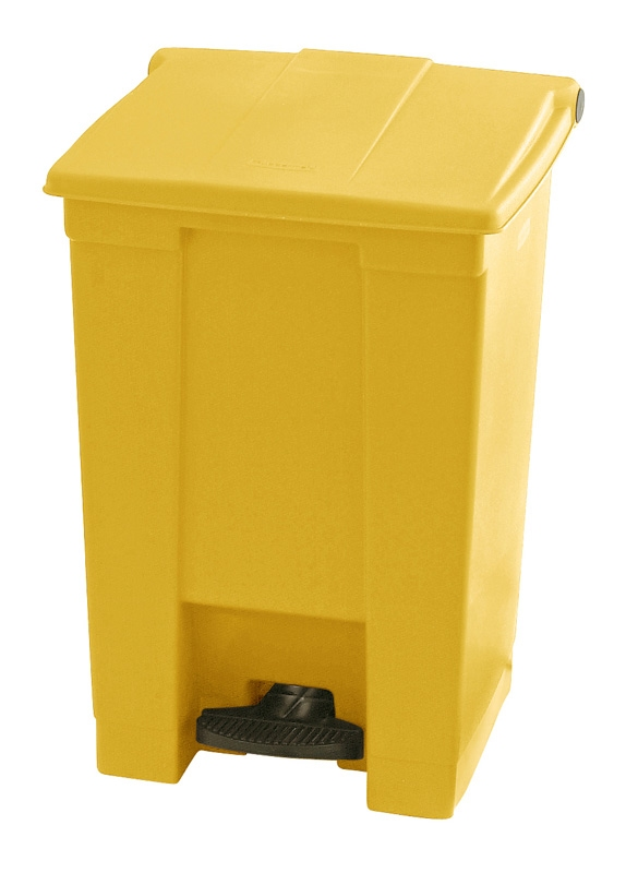 Step-On container 45 ltr, geel