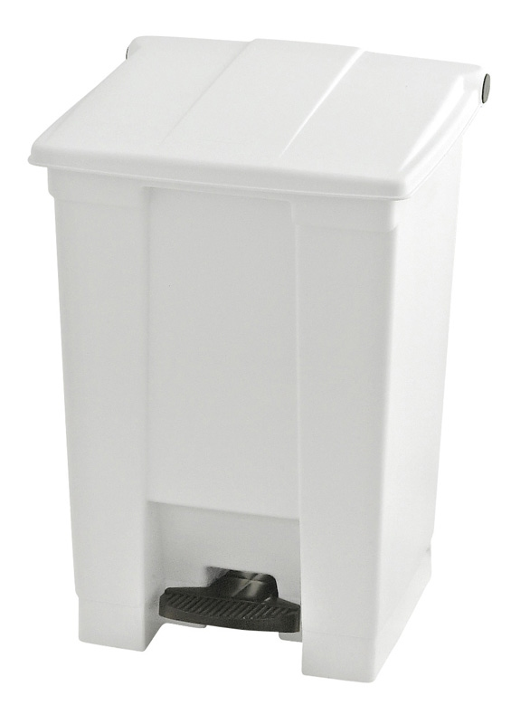 Step-On container 45 ltr, wit