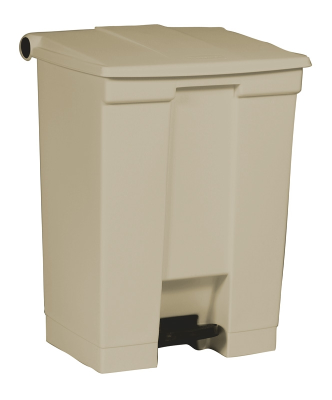 Step-On container 68 ltr, beige