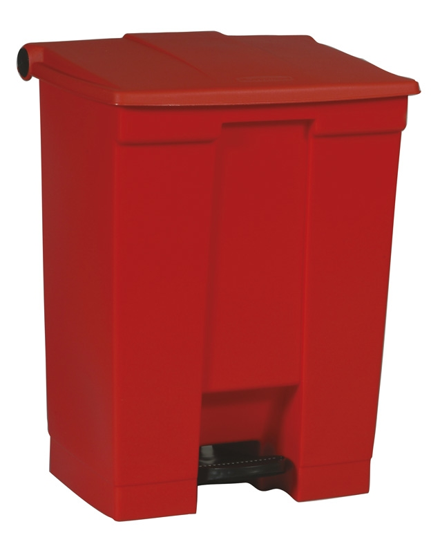Step-On container 68 ltr, rood