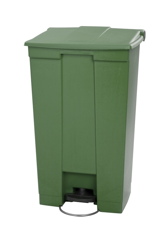 Step-On container 87 ltr, groen